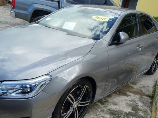 2015 Toyota Mark X Premium Edition
